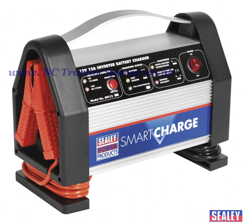 High Amp Battery >> SmartCharge Inverter Battery Charger 12V 12Amp 230V